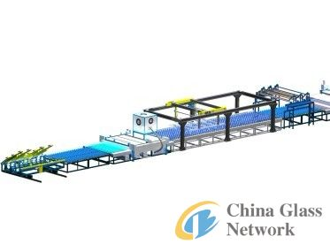automatic laminated glass production line