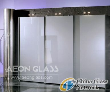 Ultra White Lacquered Glass, Ultra White Painted Glass