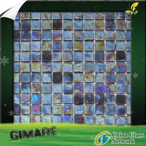 glazed glass mosaic