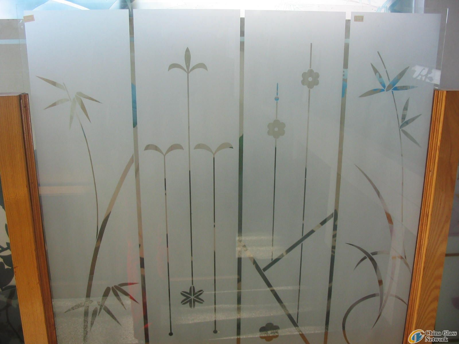 Door Glass,tempered frosted glass