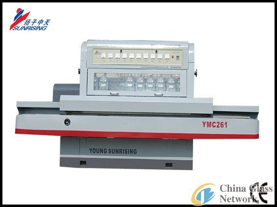 YMC261 PLC Control Glass Straight Beveling Machine