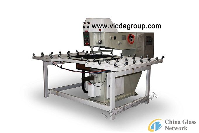 VZK80 automatic glass drilling machine/VICDA