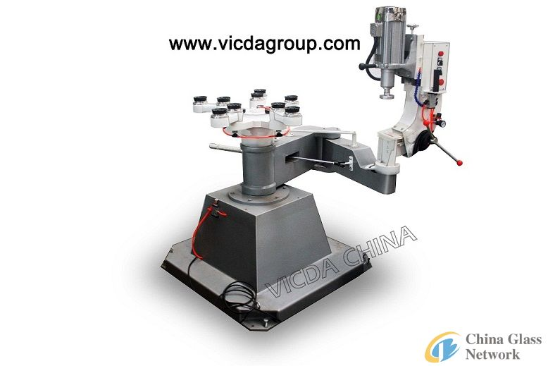 VDS20Mglass shape edge beveling machine
