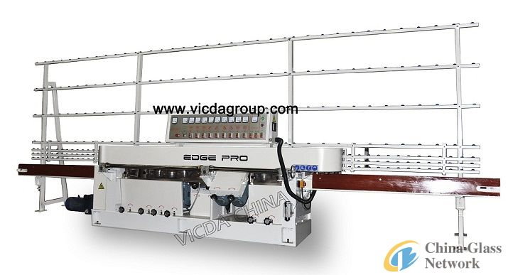 9 motors glass edging polishing machine VMZ9A