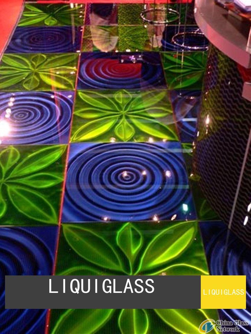 Glass Floor Tile