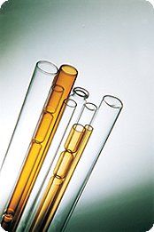 Medical glass tube