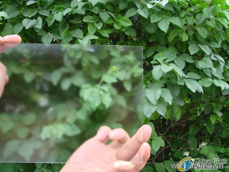 Anti glare glass