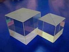 Optical BK7 Glass Beamsplitter Cube/Non-polarizing cube beamsplitter