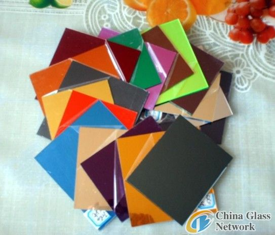 Sinoy Painted glass/ lacquered glass