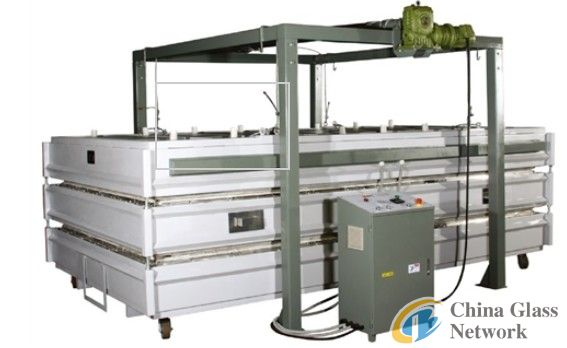 glass heating machine