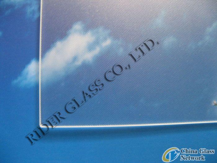 4mm Ultra Clear Textured Solar Glass