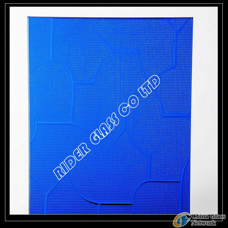 3-8MM TINTED PATTERNED GLASS