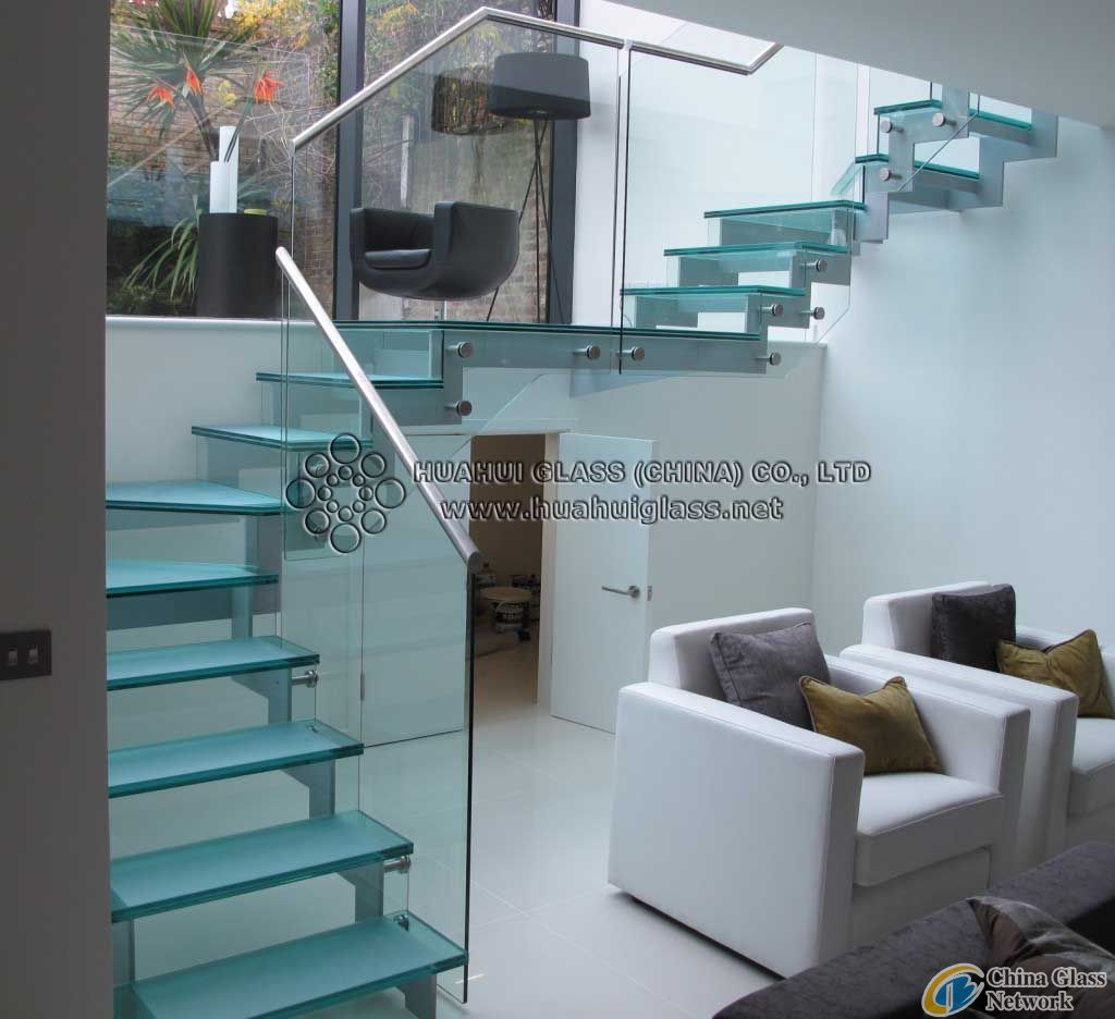 8mm Tempered Glass Stair Treads