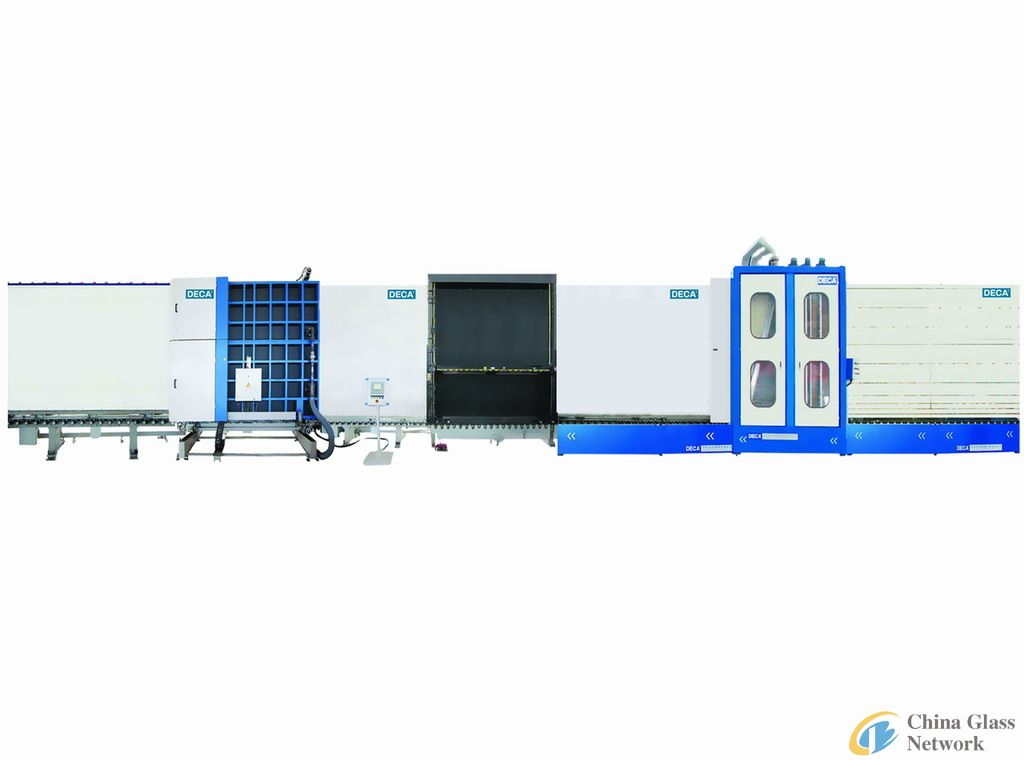 2700autostep vertical auto flat press insulating glass production line
