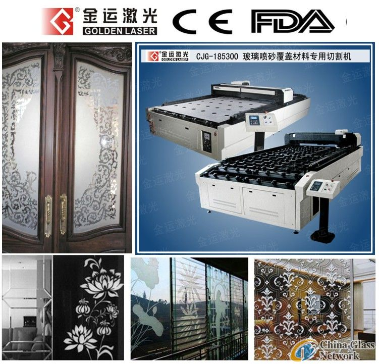 CJG-185300 Laser Cutting Machine for Glass Sandblast Mask/Stencil