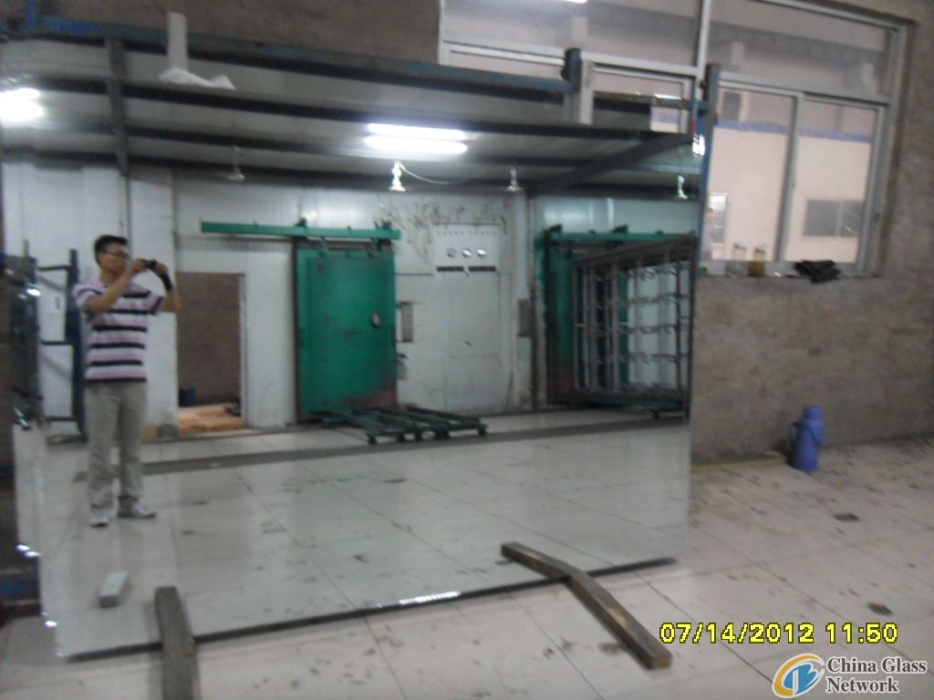 aluminium mirror sheet glass
