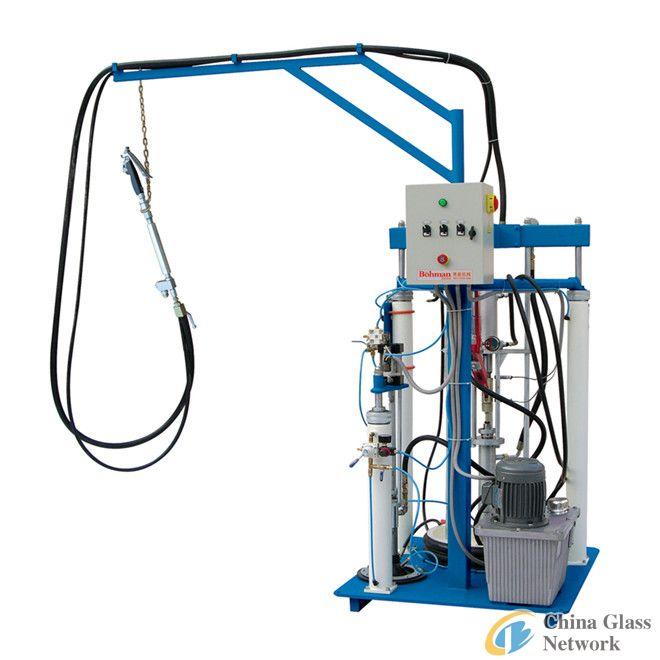 Bicomponent Rubber Spreading Machine