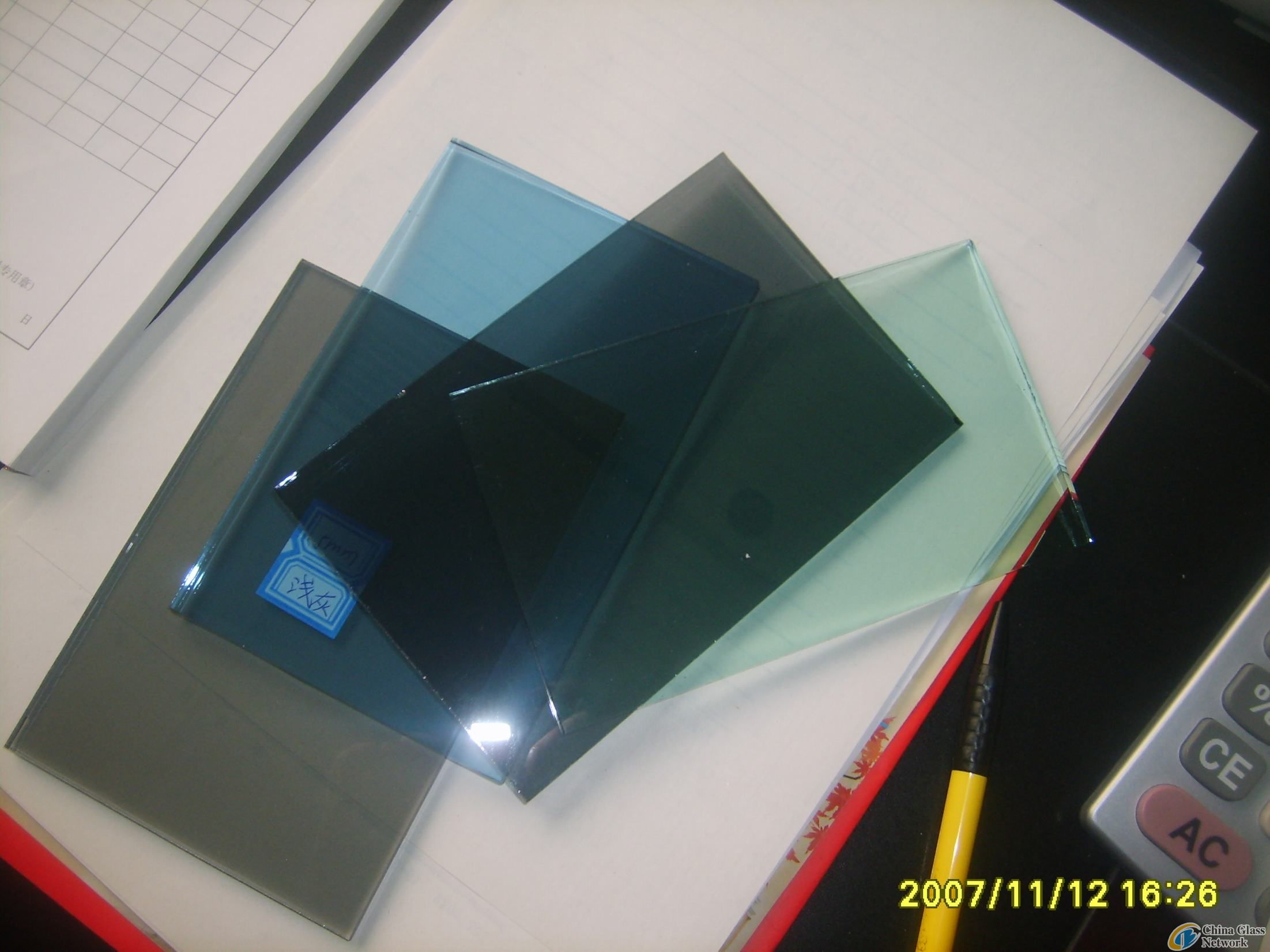 4mm-12mm Tinted Reflective Glass