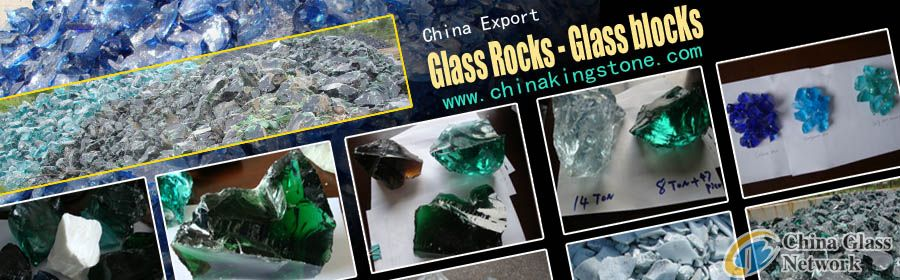 Glass blocks_glass rocks_glass stone Available for Export