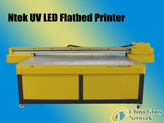 wide format flatbed printer for glass