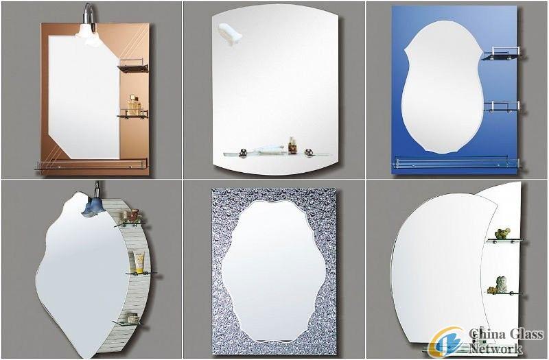Silver mirror & Aluminium mirror