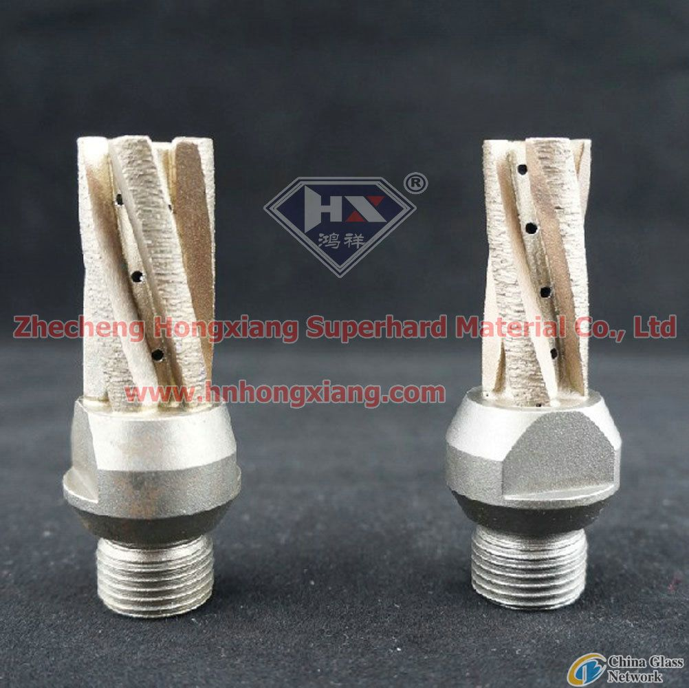 diamond milling cutter for CNC glass machine