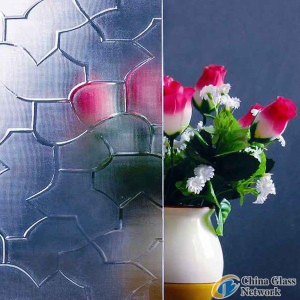 Karatachi Patterned Glass