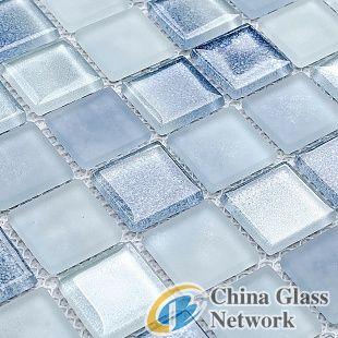 mosaic glass frosting powder