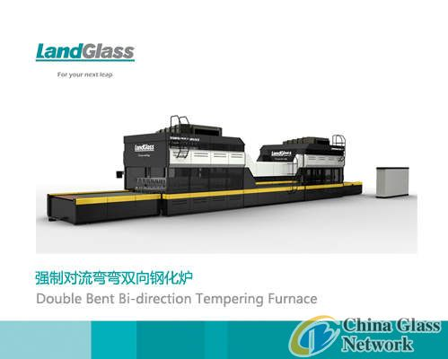 Forced convection bent and bent tempering furnace