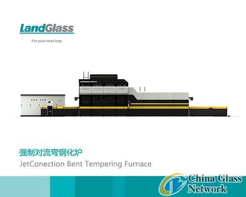 Forced convection bent tempering furnace