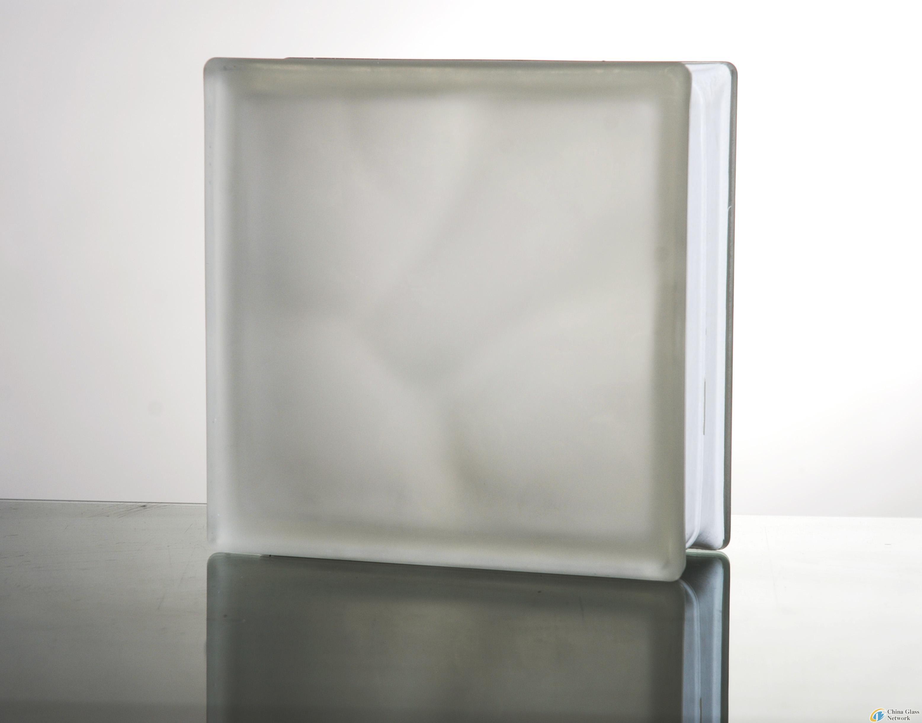 Acid/Mist/Cloudy patterend Glass Block/Brick