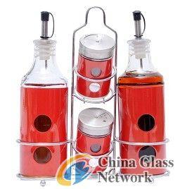 Oil Vinegar Salt Pepper Set