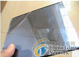 8mm gray color tempered glass