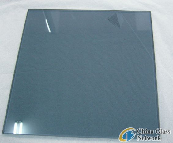 Blue float glass