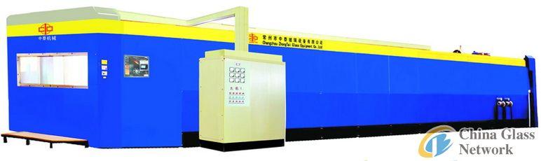 Serial bending furnace