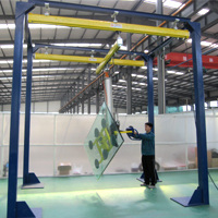 Longmen glass manipulator