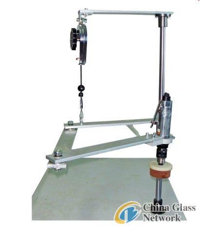 Manual Low-E Glass Hole Edge Deleting Machine