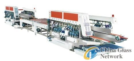 Glass processing production line