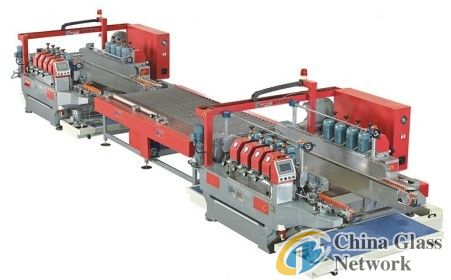 Round glass production line