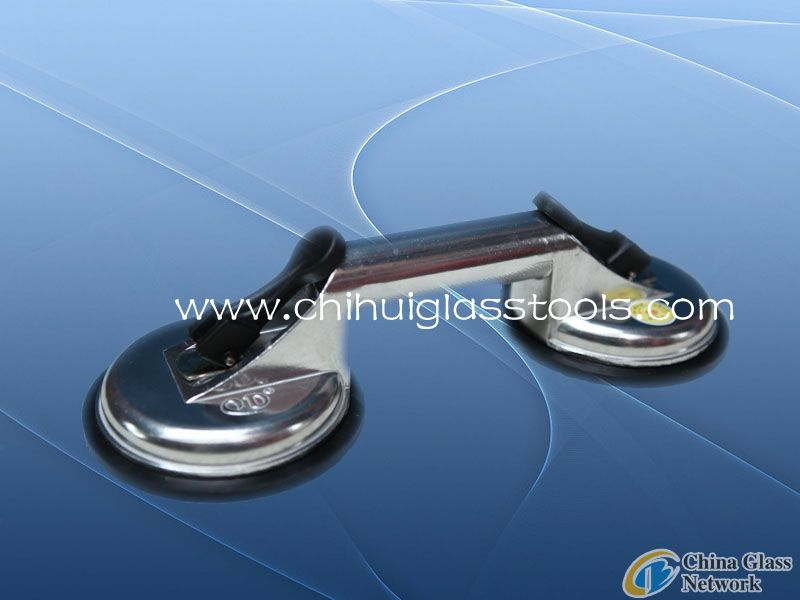 double glass suction cup