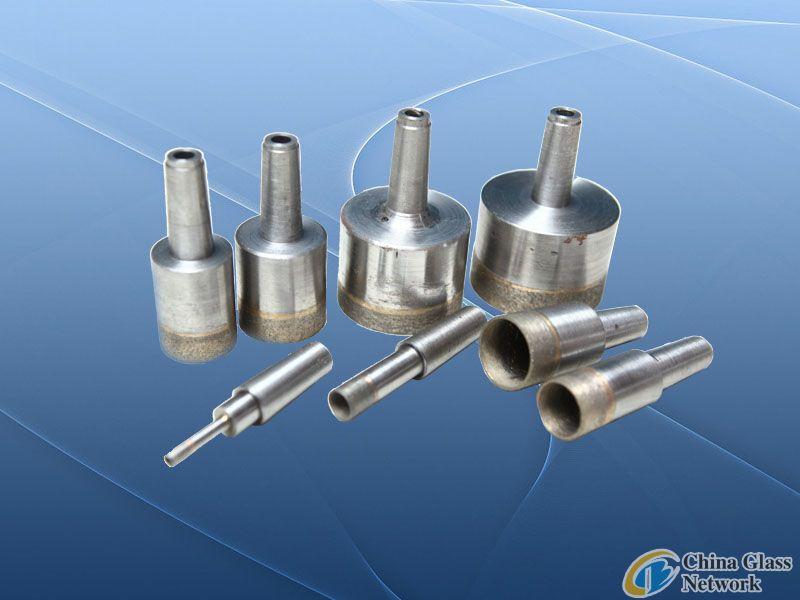Sintered diamond drill bit (taper-shank )