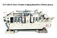 Glass Double Edging Machine for Small Glass(70mm)