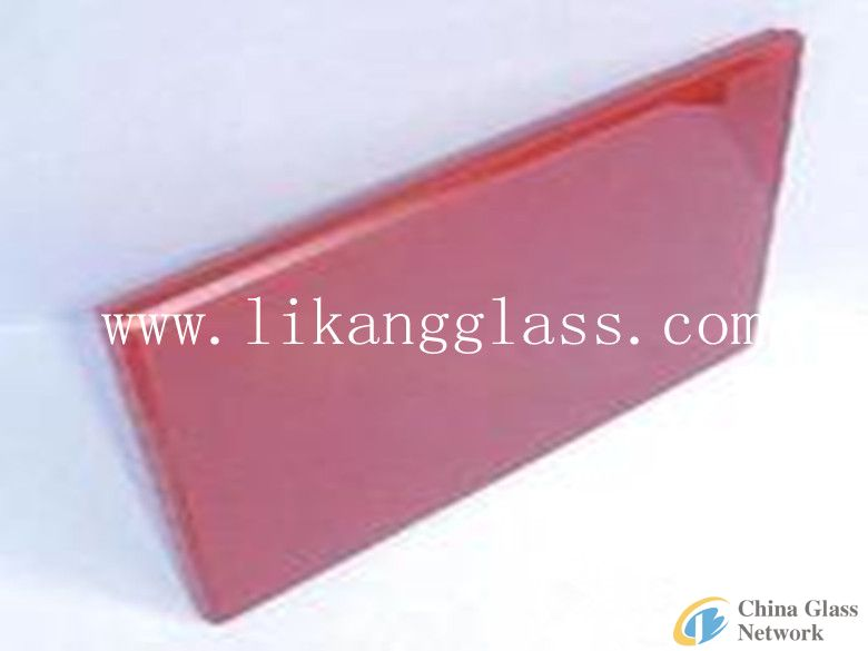 colorful laminated glass