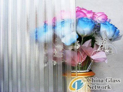 3mm to 8mm American Patterned Glass, Rolled Glass, Figured Glass with ISO certificate