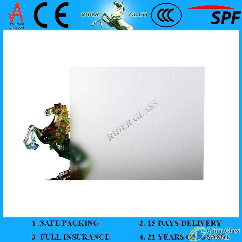 3-12mm Acid Etched Glass