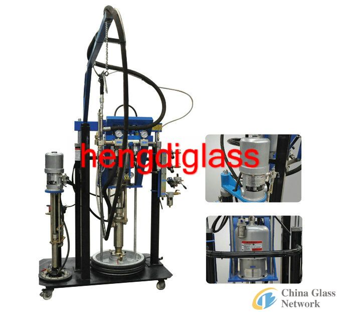 butyl extruder/sealing machine