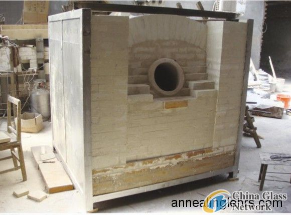 Glass crucible furnace