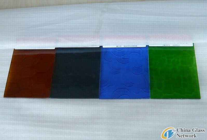 3mm 4mm 5mm 6mm clear nashiji Patterned Glass/Figured glass Chinese Supplier