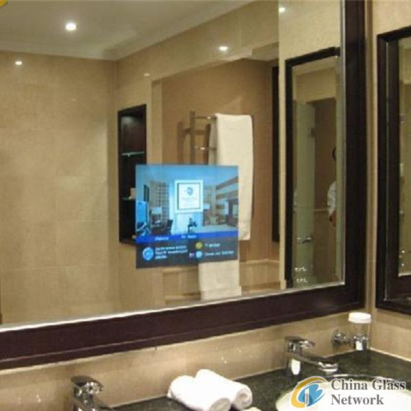 TV magic Mirror ,Bathroom TV Mirror, eb glass