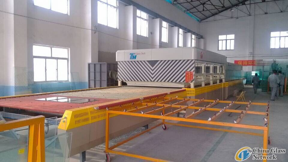 THP2616 glass tempering furnace